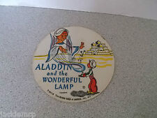 Vintage Aladdin and the Wonderful Lamp The Record Guild of America Tom Thumb