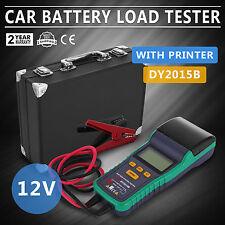 Battery Tester for 12V Lead-Acid Battery With Printer Safe VEVOR Load BRAND NEW