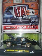 M2 Machines Detroit Muscle 1969 Pontiac GTO Judge Prototype Chase Car-R13 10-22