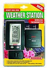 Bosmere K174 Inalámbrico Estación Meteorológica Max/Min