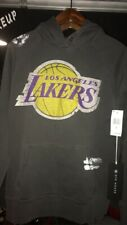 New Rare Los Angeles Lakers Hoodie 47 x Dye House sz Small Gray