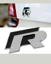 1x R Line 3D Car Metal Emblem Badge Sticker Decal For VW CC GTI PASSAT GOLF