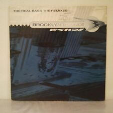 "Brooklyn Bounce ‎– The Real Bass (The Remixes) (Vinyl 12"" Maxi 33 Tours, Blue)"