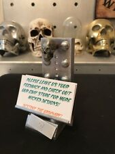 "OAKLEY MADNESS ""3D SKULL"" BUSINESS CARD HOLDER, DISPLAY STAND X METAL GLOW EYES"