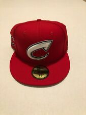 Columbus Clippers MILB X MLB New Era Hat Indians Size: 7 3/8 Red