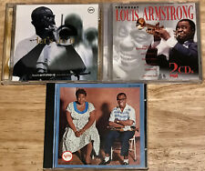 Louis Armstrong 5 cd Ella and Louis/ Best of Verve Years Let's Do It/The Great
