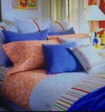 Ralph Lauren Set Twin Flat Fitted Pillowcase Sheet Harbor View Paisley Tomato