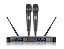 Professional Wireless Microphone System Dual SKM9000 Handheld Vocal Church UHF