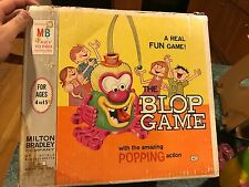 VINTAGE 1966 MILTON BRADLEY THE BLOP GAME ACTION GAME IN ORIGINAL BOX **RARE**