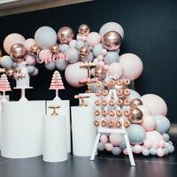 Pink Balloon 167Pcs/Set Arch Kit Set Birthday Wedding Baby Shower Garland Decor