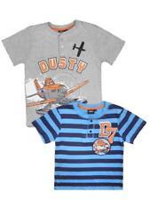 Disney Planes  Dusty   Kinder  Kurzarm Shirt  T-Shirt   Jungen  Flugzeug