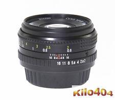 Ricoh für Pentax 50mm 1:2,0 * Manuell * Digital * K-1 * K-70 * KP * K-3 * K10D *