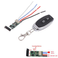 433Mhz RF Remote Relay Control Switch Scooter Wireless 1CH Receiver Transmitter