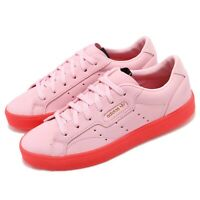adidas Originals SLEEK W Pink Red Women Casual Lifestyle Shoes Sneakers BD7475