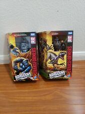 Transformers Kingdom War For Cybertron Optimus Primal And Dinobot 2lot!!!