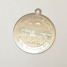 VINTAGE .925 Sterling Silver JFK CENTER CHARM WA DC Medallion Perform Arts VT60L