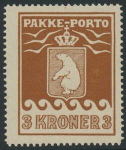 GREENLAND. #Q9. 1930. 3 Kr brown, VF mint (PH1702)