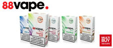 88 Vape E-Liquid | 10ml | 37 Flavours | All Strengths | 10 & 20 Packs