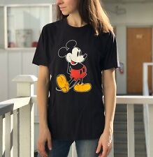 Mickey Mouse Vintage Shirt Made in Usa Graphic Disney Tee Single Stitch Medium