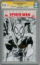 ULTIMATE COMICS SPIDER-MAN 1 SKETCH VAR CGC 9.8 SIGNATURE SERIES SIGNED STAN LEE