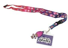 Licensed GoodLuck Trolls Lanyard with ID Holder (WHOLESALE LOT OF 36)
