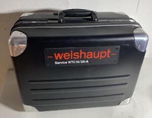 Weishaupt WTC15/25A Service Koffer Wartungskoffer / Ersatzteilkoffer