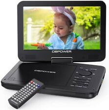 """DBPOWER 12.5"""" Portable DVD Player with 10.5"""" Swivel Screen, Built-in 5 Hours..."""