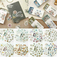 40Pcs Vintage Planner Diary Paper Stickers DIY Crafts Scrapbooking Stationery