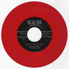 DOO WOP 45 THE MARKELS THE LETTER OF LOVE ON  R & M  VG++  RED WAX REPRO