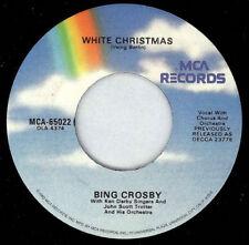 "BING CROSBY - White Christmas 7"" 45"