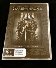 Game of Thrones: Season 1 DVD (( New )) The Complete First Season ~ Region 4