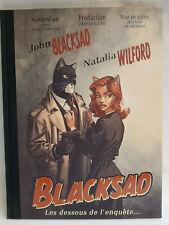 Blacksad - Les dessous de l'enquête - J.Guarnido - Deuxième édition