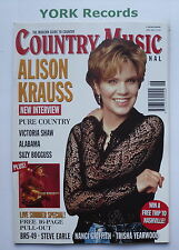 COUNTRY MUSIC INTERNATIONAL MAGAZINE - June 1997 - Alison Krauss / Victoria Shaw