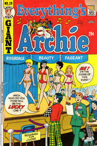 EVERYTHING'S ARCHIE #29 - 1973 - Vintage ARCHIE Comic VG
