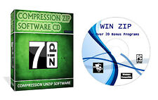 WINZIP/RAR/decomprimere/ZIP/arhived i file decompressi software per PC Windows DVD