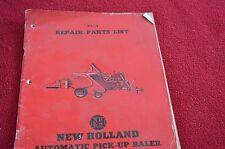 New Holland 77 Baler Dealer's Parts Book Manual TAWV