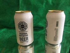 DHARMA initiative BEER Can- LOST TV  SHOW ABC