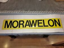 "VINTAGE 1980'S  30"" NORTH WALES BUS BLIND: MORAWELON"