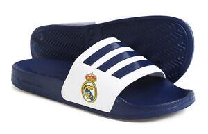 adidas Adilette Shower Real Madrid Navy White Men Sandals Slides Slippers FW7073