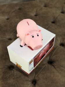Toy Story Hamm Figures Coins Save Money Box Piggy Bank Pink Ham Pig New With Box