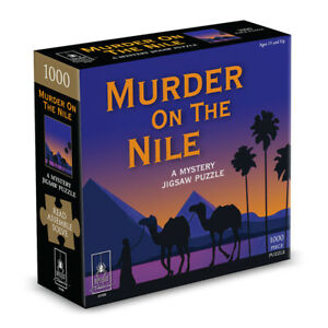 Murder on the Nile Classic Mystery Jigsaw Puzzle 8 x 8