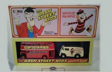 CORGI D47/1 THE BASH ST KIDS  MINNIE THE MINX MORRIS J VAN & AEC BUS diecast set