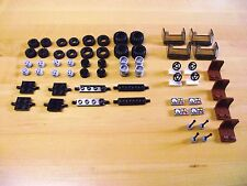 New LEGO Bulk Lot of Wheels,Axles Rims,Seats,Windshield,Dash,Console. 4 Styles