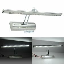 Stainless Steel 5050 Miror Front Bathroom Makeup Cosmetic Shaver Wall LED Lights