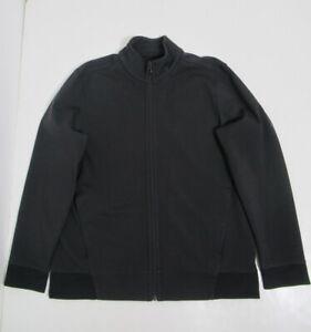 Lululemon Men's Full Zip Bomber Jacket Black Size XL Warpstreme
