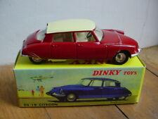DINKY TOYS ATLAS REF  530 CITROEN DS 19  bordeaux /creme  nb