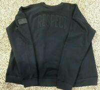 Womens SZ S Under Armour UA Project Rock Respect USDNA Hoodie Sweatshirt 1345556