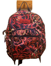 Vera Bradley Katalina Pink Mini Campus Backpack Floral Print EUC