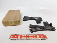 CB48-1# 2x Trix Express H0/DC 20/7 Bakelit-Handweiche/Weiche geprüft, OVP
