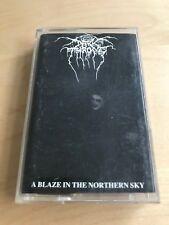 DARKTHRONE - A Blaze In The Northern Sky MC 1992 RARE 1'ST PL PRESS PINK NM++